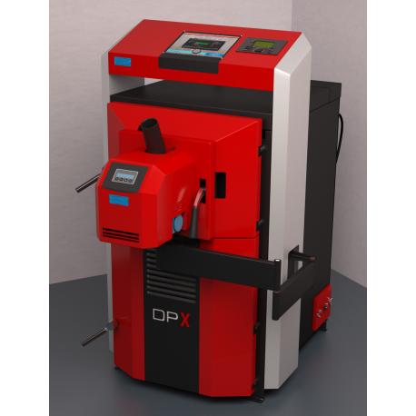 Dujų generacijos kombinuotas katilas  ATTACK 25 DPX PROFI COMBI pellet, su elektroniniu valdymu