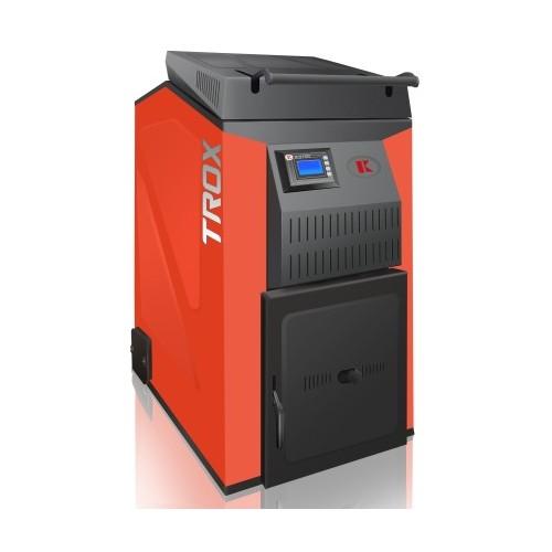 Kieto kuro - biomasės katilas TROTEX 25 kW