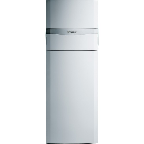 Dujinis kondensacinis katilas Vaillant ecoCOMPACT VSC 206/4 -5 su 150 litrų karšto vandens šildytuvu