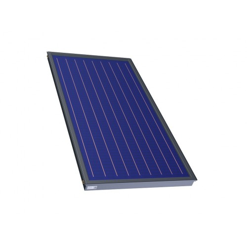 Plokščias saulės kolektorius KS-2100TLP AC (2,09m2 plotas TiNox absorberis) (144701)