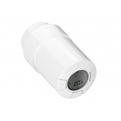 Elektroninis radiatorių termostatas Danfoss Living ECO, su RA ir M30x1,5 jungčių adapteriais
