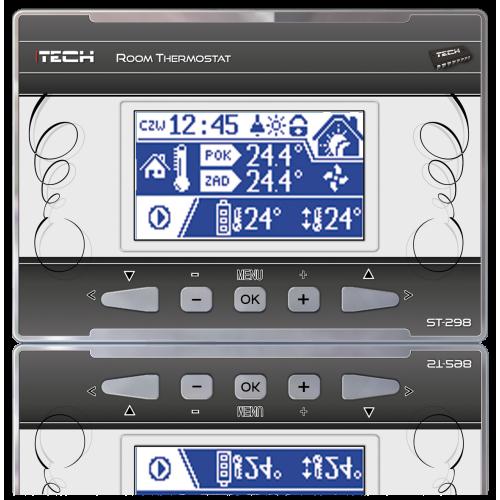 Kambario termostatas ST-298