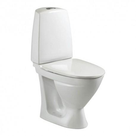 Kombinuotas unitazas SIGN, horizontalus, 2/4 ltr. Fresh WC funkcija