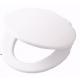 Unitazo dangtis iCon, kietas, su soft close funkcija, baltas