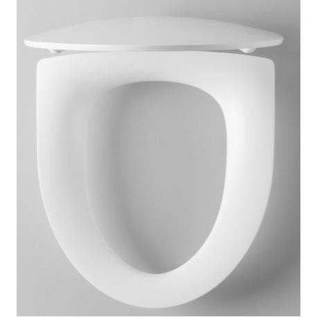 Unitazo dangtis Inspira Art su soft close funkcija, baltas