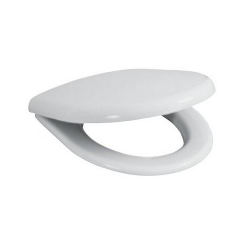 Sėdynė su dangčiu LYRA plus kieto plastiko Scandia su antibakteriniu efektu