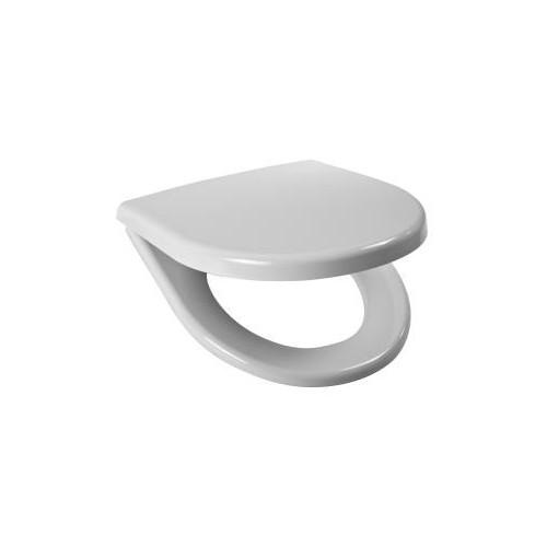 Sėdynė su dangčiu LYRAplus, kietas antibakterinis platikas, nerūdijančio plieno lankstai