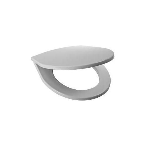 Sėdynė su dangčiu LYRAplus , termoplatikas, plastikiniai lankstai - kombinuotiems unitazams LYRAplus