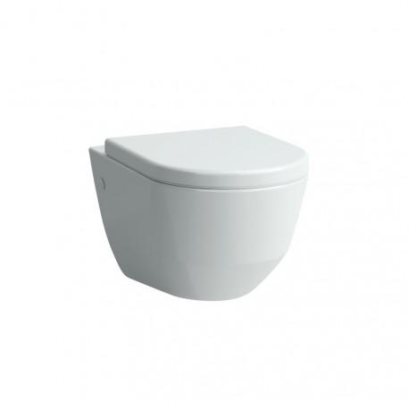 Pakabinamas unitazas PRO NEW (530 x 360 x 430 mm) su stačiu nubėgimu, baltas