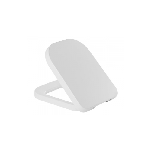 WC dangtis LOOK CLIPOFF, antibakteriniu ef., Duroplast, nerūd. pl. lankstai, baltas