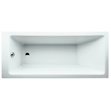 PRO vonia 160x70 cm, įleidžiamas modelis, balta