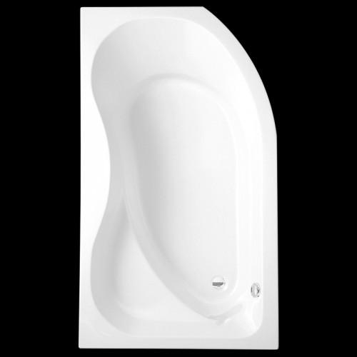 Asimetrinė vonia Activa P 160 x 90 cm, dešininė