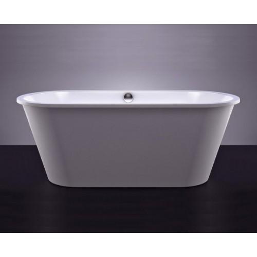 ACCENT akmens masės vonia 170 x 70 cm, balta