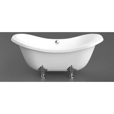 Akmens masės vonia Impero 1950x900 mm, balta