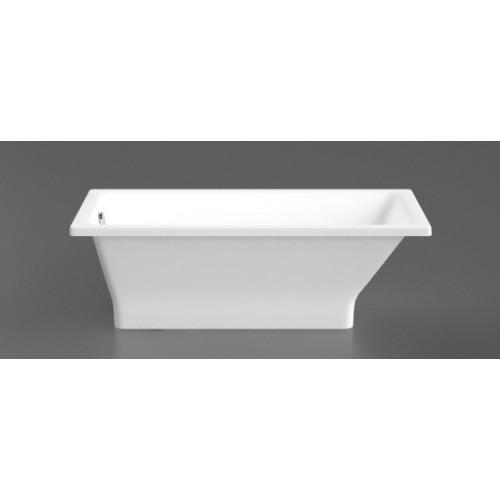 Akmens masės vonia ETTE 1696x700 mm su paslėptomis kojomis, balta