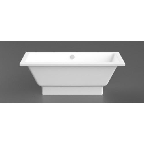 Akmens masės vonia Nordica  1690x750 mm su paslėptomis kojomis, balta