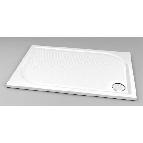 Dušo padėklas Klara 1200x800 mm, baltas