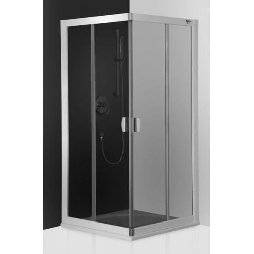 Dušo kabina ECS2 900/1850 Sidabras/Transparent