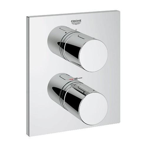 Grohtherm 3000 Cosmopolitan potinkinio dušo termostato virštinkinė dalis, chromas