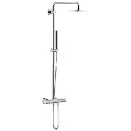 Rainshower System dušo sistema su dušo termostatu (stacionari galva Ø210, alkūnė 450mm, rankinis dušas) EcoJoy
