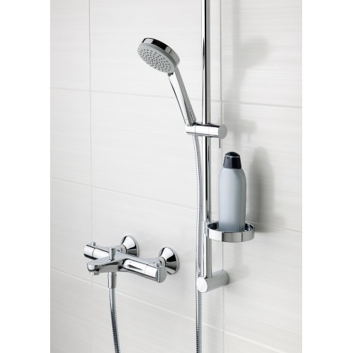 SAFIRA termostatinis vonios ir dušo maišytuvai su dušo komplektu L 900