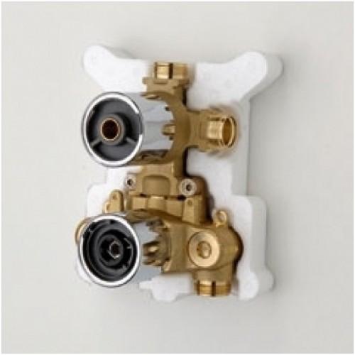 Potinkinis termostatinis vonios ir dušo maišytuvo korpusas Oras Optima