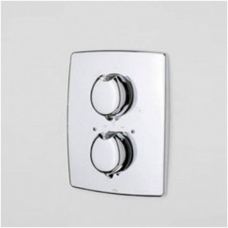 Potinkinio termostatinio dušo ir vonios maišytuvo išorinė dekoratyvinė dalis Oras Optima