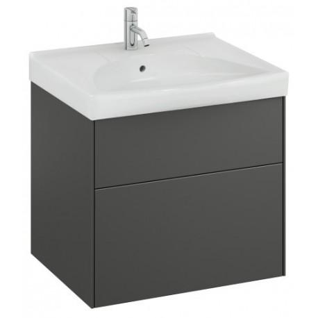 Apatinė spintelė Sense 60x52x46,6 cm, SUS 60 G2, juodas grafitas