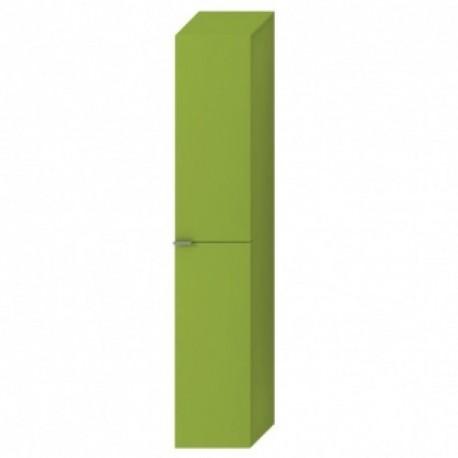 TIGO aukšta spintelė, 4 stikl. lentynėlės, 2 durelės, kair./deš., žalia