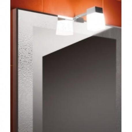 Plėvelė nuo rasojimo veidrodžiams CLEAR, 574 x 274 mm, IP44, su jungimo prie 230 V dėžute