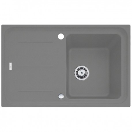 Plautuvė IMG 611 su eksc. ventiliu, 780x400 mm, akmens pilka