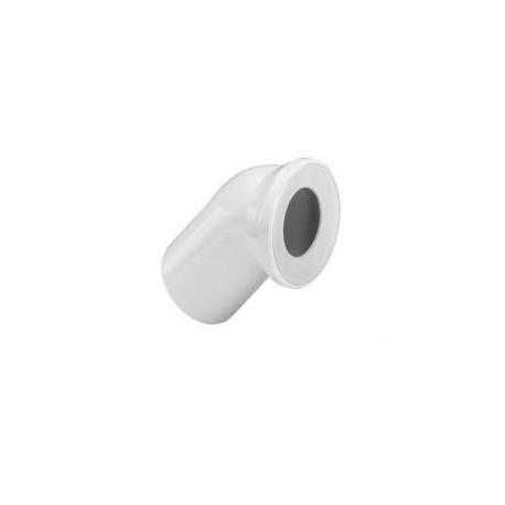 WC pajungimo alkūnė 45*, 100
