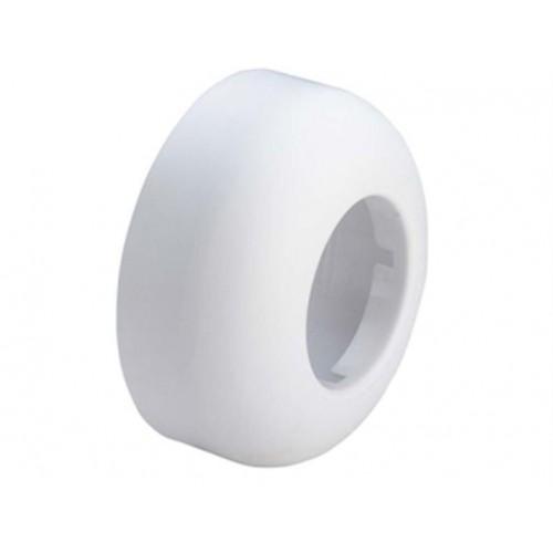 Sifono apdaila / rozetė , DN40 Ø80 H-35 , balta