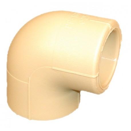 Lituojama Poloplast alkūnė 90° 40mm