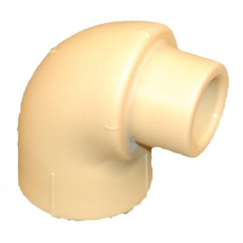 Lituojama Poloplast alkūnė (vidus/išorė) 90° 25mm