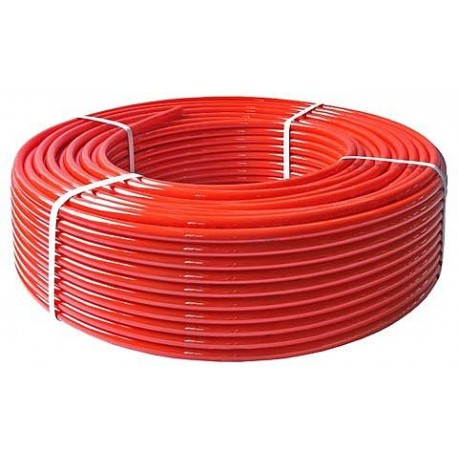 Daugiasluoksnis vamzdis PeX  grindų šildymui d.18x2.0 raudonas, TRITERM, po 480m