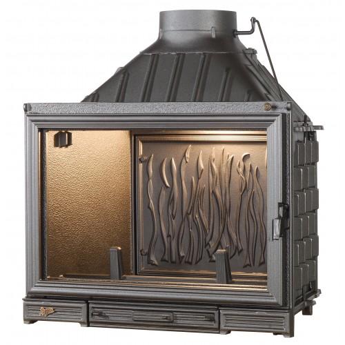 Ketinis židinio ugniakuras Seguin Kiteflam Efekt, dv. degimo sistema (F1400+DC14)