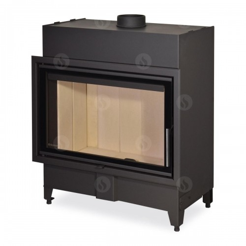 Plieninis židinio ugniakuras Romotop KV HEAT H2X 01 - 80.50