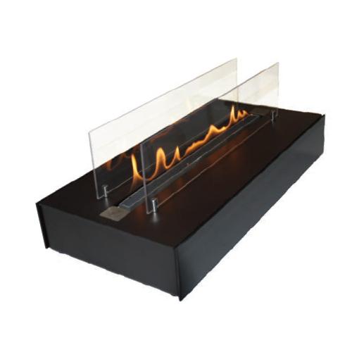 Bio židinys Spartherm Quadra Inside automatic II, juoda spalva