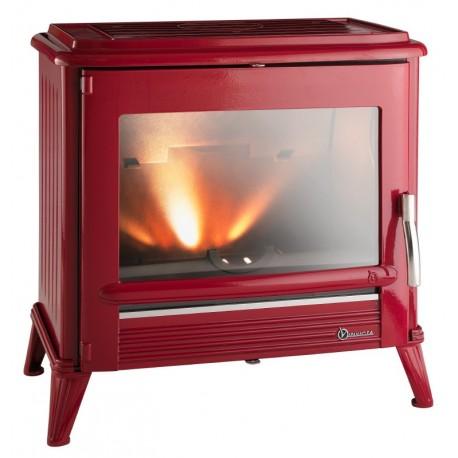 Ketinė krosnelė Invicta MODENA, raudono emalio spalva