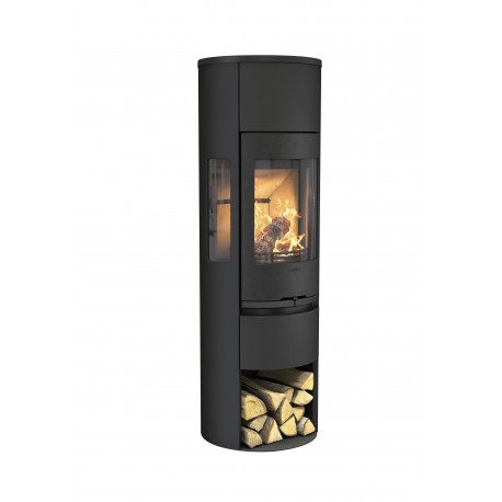 Plieninė krosnelė Contura 596G:1 Style, juodu korpusu