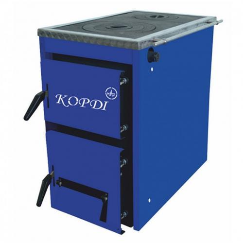 Kieto kuro katilas-viryklė, KORDI 10 kW (KORDI-10S)