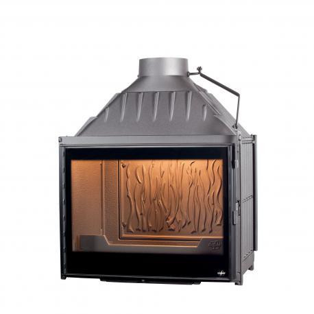 Ketinis židinio ugniakuras  Multivision 7000, D/F,su tonuotu stiklu