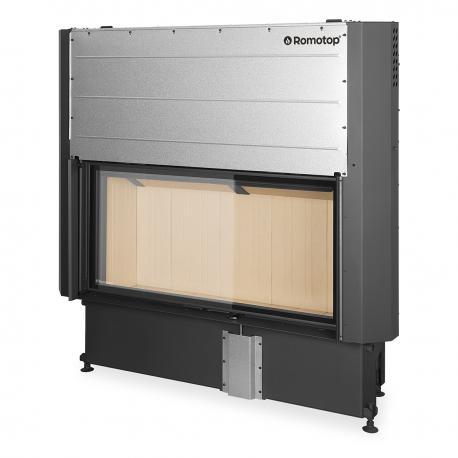 Plieninis židinio ugniakuras Romotop IMPRESSION 2G L 93.60 su pakeliamomis durimis